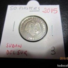 Monedas antiguas de África: SUDAN DEL SUR - 50 PIASTRAS 2015 KM3 SC. Lote 157657562