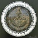 Monedas antiguas de África: 1/2 DINAR LIBIA 2009. Lote 157908638