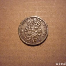 Monedas antiguas de África: ANGOLA - 50 CENTAVOS 1961. Lote 158328954