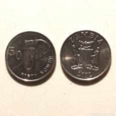 Monedas antiguas de África: (NM-01) 50 NGWEE. 2012. ZAMBIA. KM# 208. Lote 158721418