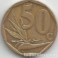 Monedas antiguas de África: ÁFRICA DEL SUR - 50 CENTS 2016 - EBC - VISITA MIS OTROS LOTES. Lote 158830754