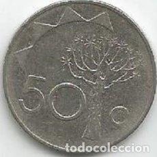 Monedas antiguas de África: NAMIBIA - 50 CENTS 1993 - EBC - - VISITA MIS OTROS LOTES. Lote 158855122