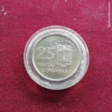 Monedas antiguas de África: GUINEA ECUATORIAL. 25 PESETAS GUINEANAS DE 1969. SC. Lote 159131718