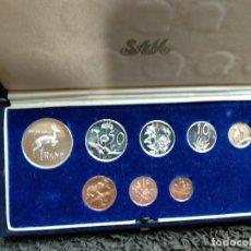 Monedas antiguas de África: SUDAFRICA ESTUCHE ORIGINAL CON LA SERIE MONEDAS DE 1972 EN CALIDAD PROOF. Lote 159417230