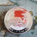 Monedas antiguas de África: 1 ONZA DE PLATA PURA SOMALIA.ELEFANTE.2019. Lote 162445096