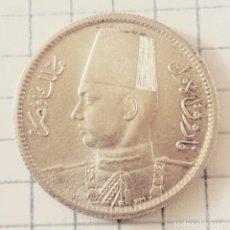 Monedas antiguas de África: EGIPTO/REINO. 2 PIASTRAS 1356 (1937). PLATA. . Lote 159578018