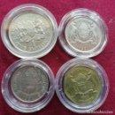 Monedas antiguas de África: BOTSWANA Y KENYA. 4 MONEDAS ENCAPSULADAS. Lote 159685946