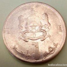 Monedas antiguas de África: MARRUECOS - 1 DIRHAM 2012 - EBC - MIRE MIS OTROS LOTES Y AHORRE GASTOS DE ENVÍO. Lote 160174022