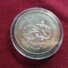 Monedas antiguas de África: ETIOPIA 2 BIRR 1982, FUTBOL. Lote 182674862