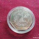 Monedas antiguas de África: JORDANIA. HALF DINAR DE 1986, HEPTAGONAL. Lote 160180762