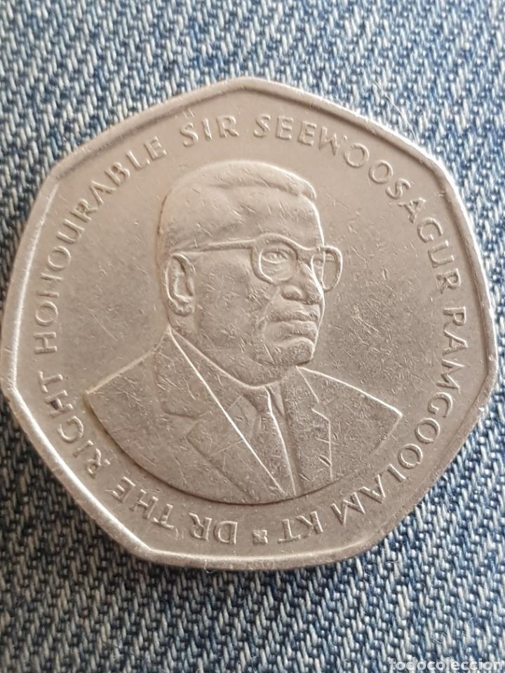 Monedas antiguas de África: 10 rupias 1997 islas mauricio - Foto 2 - 160579669
