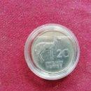 Monedas antiguas de África: ZAMBIA. 20 NGWEE 1968. Lote 160620694