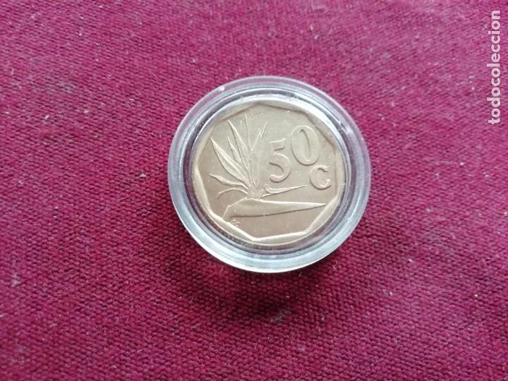 SUDÁFRICA. 50 CENTS DE 1992. SC (Coins - International - Africa)