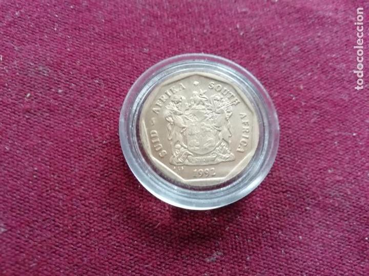 Old Coins of Africa: Sudáfrica. 50 cents de 1992. SC - Foto 2 - 160620790