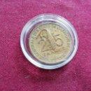 Monedas antiguas de África: AFRICA DEL OESTE. 25 CENTIMES DE 1987. Lote 160621134