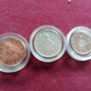 Monedas antiguas de África: ZIMBABWE. 3 MONEDAS NUEVAS. Lote 160689410