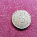 Monedas antiguas de África: MAURICIO 5 CENTS 1969. Lote 160689874
