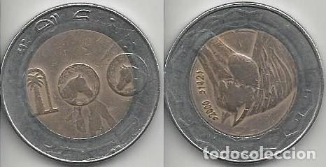 ARGELIA 2000 - 100 DINARS - KM 132 - CIRCULADA (Numismática - Extranjeras - África)