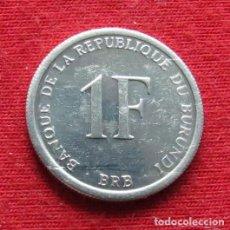Monedas antiguas de África: BURUNDI 1 FRANC 2003. Lote 175751447