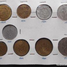 Monedas antiguas de África: CONJUNTO DE MONEDAS DE ALGERIA AÑOS 70. Lote 161747050