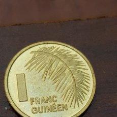 Monedas antiguas de África: GUINEA 1 FRANCO 1985. Lote 165064501
