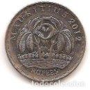 Monedas antiguas de África: MAURITIUS,5 RUPIAS 2012.. Lote 165251570