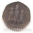 Monedas antiguas de África: EMIRATOS ARABES UNIDOS.50 FILS 2007.. Lote 165252662