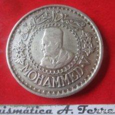 Monedas antiguas de África: MARRUECOS. 500 FRANCOS DE PLATA. MOHAMED V. 1956. Lote 165453726