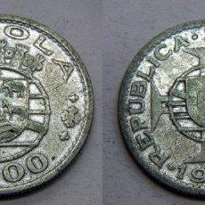Monedas antiguas de África: MONEDA DE ANGOLA PORTUGUESA 10 ESCUDOS 1955 PLATA. Lote 166221054
