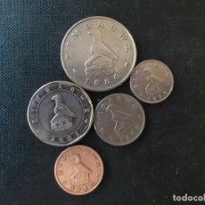Monedas antiguas de África: CONJUNTO DE MONEDAS DE ZIMBAWE. Lote 161066394