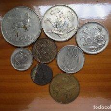 Monedas antiguas de África: SOUTH AFRICA - LOTE SERIE COMPLETA. Lote 166694366