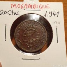 Monedas antiguas de África: EDU8 – MOZAMBIQUE PORTUGUES 20 CENTAVOS 1941. Lote 166742992