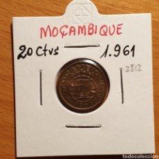Monedas antiguas de África: EDU8 – MOZAMBIQUE PORTUGUES 20 CENTAVOS 1961, CALIDAD. Lote 166742996