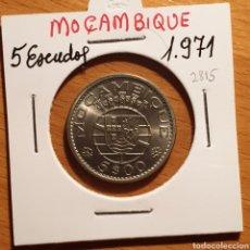 Monedas antiguas de África: EDU8 – MOZAMBIQUE PORTUGUES 5 ESCUDOS 1971, SC. Lote 166743048