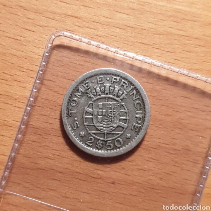 EDU8 – SANTO TOME Y PRINCIPE 2,50 ESCUDOS 1951 (Numismática - Extranjeras - África)