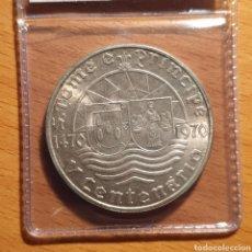 Monedas antiguas de África: EDU8 – SANTO TOME Y PRINCIPE 50 ESCUDOS 1970, CALIDAD, PLATA. Lote 166743064