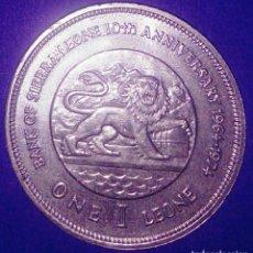Monedas antiguas de África: SIERRA LEONA. 1 LEONE 1974. SC. . Lote 167172692