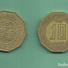 Monedas antiguas de África: ARGELIA 10 DINARS 1981. Lote 167526813