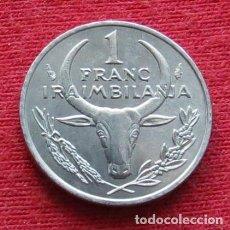 Monedas antiguas de África: MADAGASCAR 1 FRANC 1993. Lote 167743812