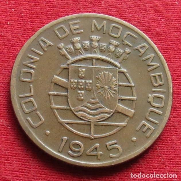 Monedas antiguas de África: Mozambique 1 escudo 1945 Moçambique Portugal #1 - Foto 2 - 167878500