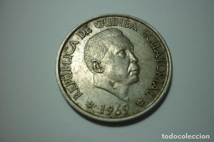 REPUBLICA DE GUINEA ECUATORIAL 1969*69 50 PESETAS GUINEANAS (Numismática - Extranjeras - África)