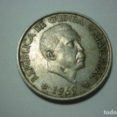 Monedas antiguas de África: REPUBLICA DE GUINEA ECUATORIAL 1969*69 50 PESETAS GUINEANAS. Lote 168941452