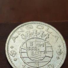 Monedas antiguas de África: ANGOLA 10 ESCUDOS 1955 PLATA. Lote 169195090