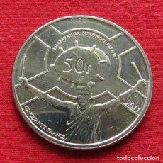 Monedas antiguas de África: BURUNDI 50 FRANC 2011. Lote 169283464