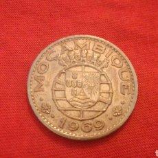 Monedas antiguas de África: 1 ESCUDO MOZAMBIQUE 1969. Lote 170412129