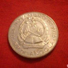 Monedas antiguas de África: 1 KWANZA DE ANGOLA 1975. Lote 170439030