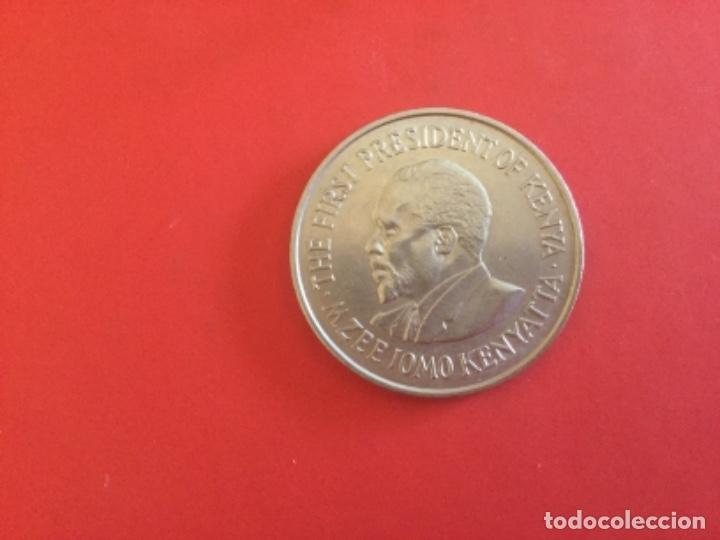 KENYA 1 CHELÍN 1971 (Numismática - Extranjeras - África)