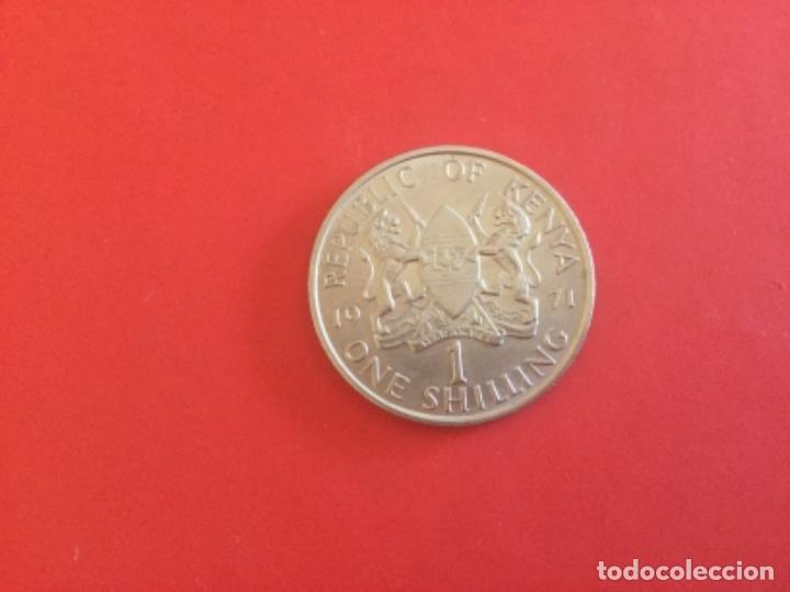 Monedas antiguas de África: Kenya 1 Chelín 1971 - Foto 2 - 172143113
