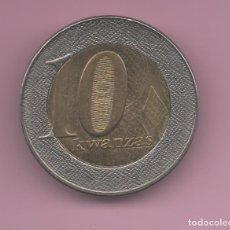 Monedas antiguas de África: ANGOLA - 10 KWANZAS 2012 - BIMETAL. Lote 172163518