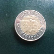 Monedas antiguas de África: MALAWI 5 KWACHA 2006 UNC. Lote 172654334